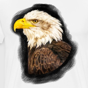 Bald Eagle - Premium T-skjorte for menn