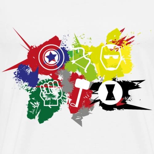 Superheldenteam - Männer Premium T-Shirt
