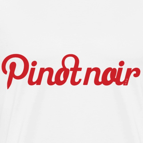 Pinot noir - T-shirt Premium Homme