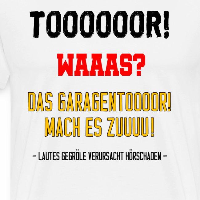 Cheekyme Tor Deutschland Fußball Wm Geschenk Männer Premium T Shirt