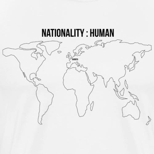 OVRRTD - Nationality: Human - Men's Premium T-Shirt