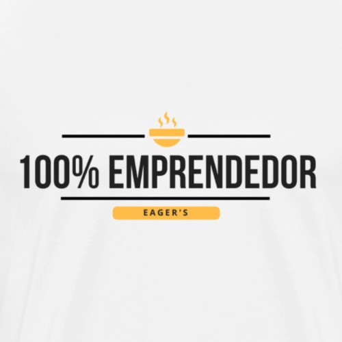 100% Emprendedor - Camiseta premium hombre