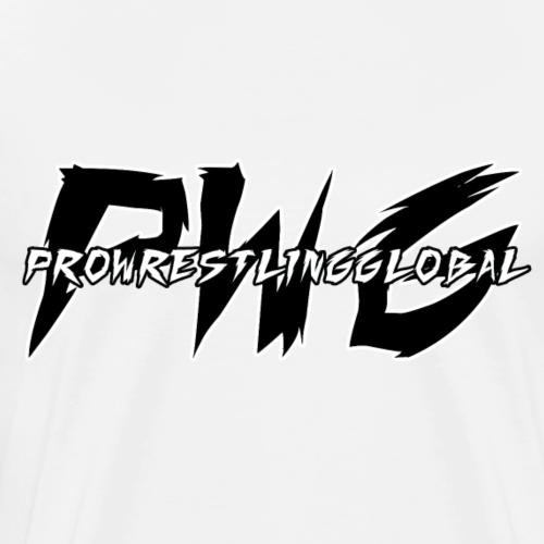 PWG Pro Wrestling Global Logo T-Shirt - Men's Premium T-Shirt