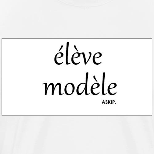T shirt  élève modèle  - T-shirt Premium Homme