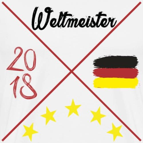 ★ Deutschland Weltmeisterschaft 2018 54 74 90 14 ★ - Männer Premium T-Shirt