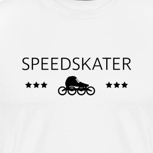 Speedskater - Männer Premium T-Shirt