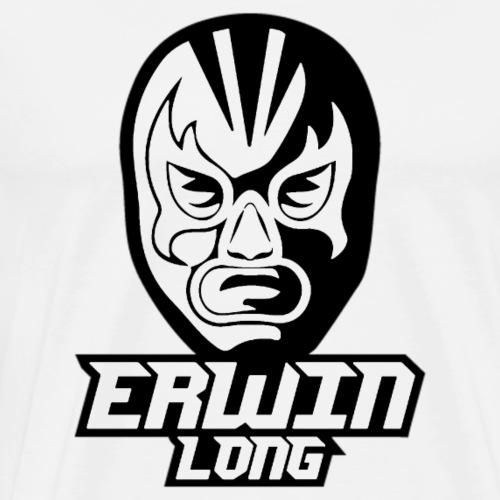 Erwin Long - Schwarz - Männer Premium T-Shirt