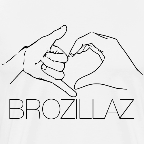 BROZILLAZ - Männer Premium T-Shirt