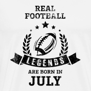 Juli Football Legends - Herre premium T-shirt