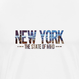 New York - The State Of Mind 2 - Mannen Premium T-shirt
