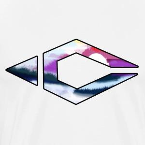 Sunset Logo - Mannen Premium T-shirt