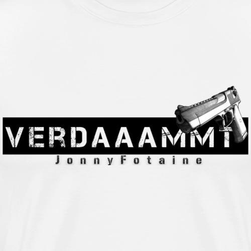 Verdaaammmt JonnyFotaine - Männer Premium T-Shirt