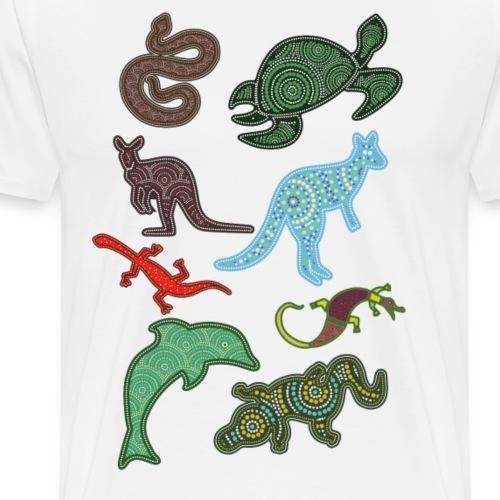 Australien Tier-Design - Männer Premium T-Shirt