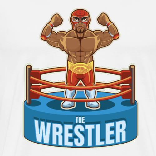 Mexican The Wrestler - Men's Premium T-Shirt