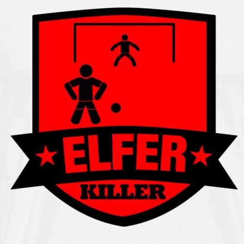 T-Shirt für wahre Elfer Killer - Männer Premium T-Shirt