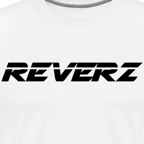 REVERZ LOGO BLACK - Männer Premium T-Shirt