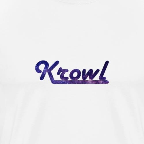 Krowl 1st Old Side Design - T-shirt Premium Homme