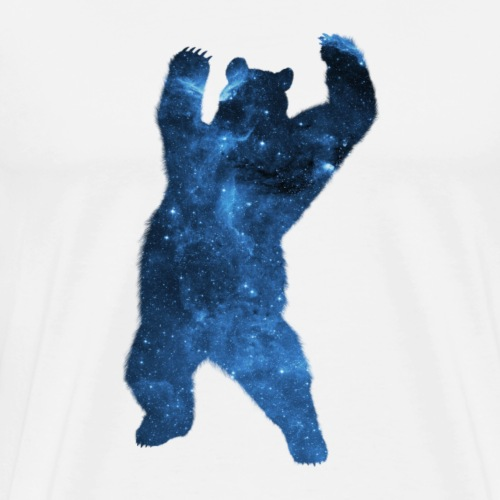 Galaxis-Bär - Männer Premium T-Shirt