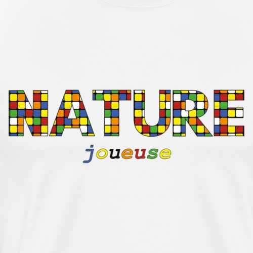 Nature Joueuse - T-shirt Premium Homme