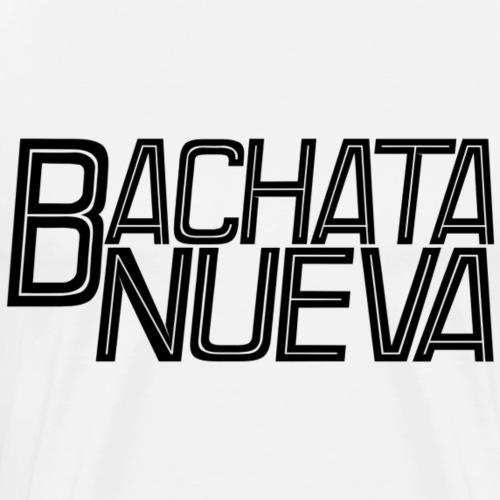 Bachata Nueva black - Männer Premium T-Shirt