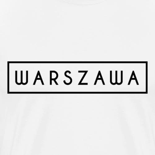 Polska Warszawa Warschau Warsaw Geschenke - Männer Premium T-Shirt