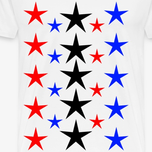 Sterne2 - Männer Premium T-Shirt