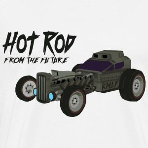 Hot Rod from the future v1 Kmlf style - Men's Premium T-Shirt