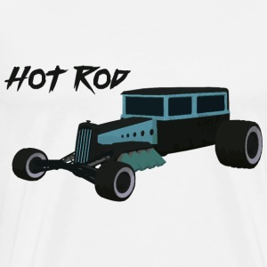 Hot Rod Lover v2 - Herre premium T-shirt
