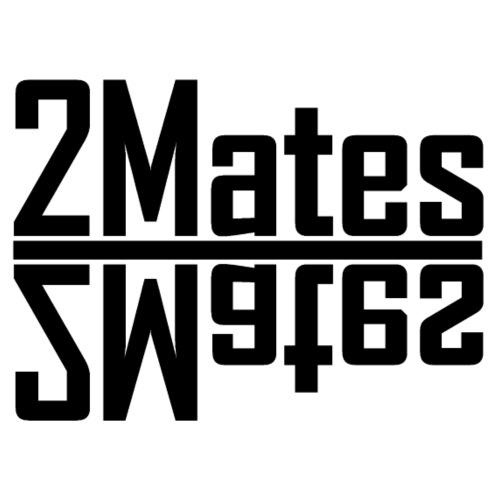 2Mates-Spiegelschriftzug - Männer Premium T-Shirt