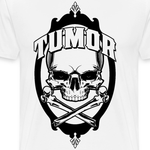 Tumor Skull Logo 2017 - Männer Premium T-Shirt