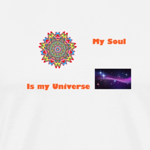 My soul is my universe - Men's Premium T-Shirt