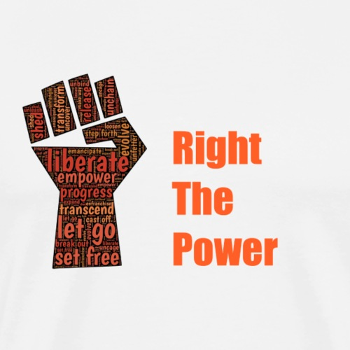 Right The Power - Men's Premium T-Shirt