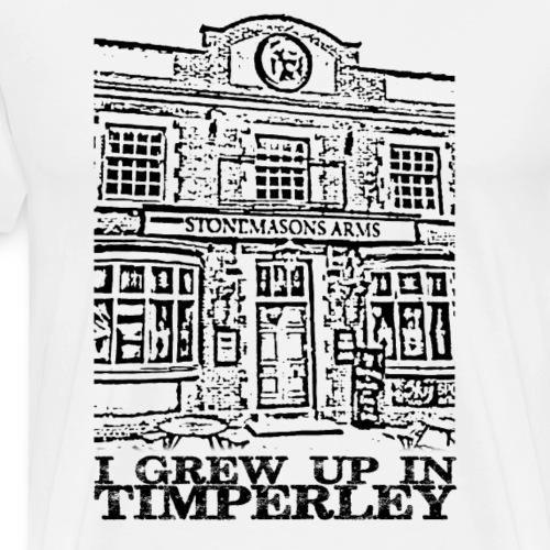 Stonemasons Arms Timperley Traditions - Men's Premium T-Shirt