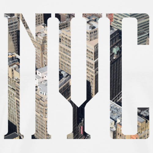 nyc - Männer Premium T-Shirt