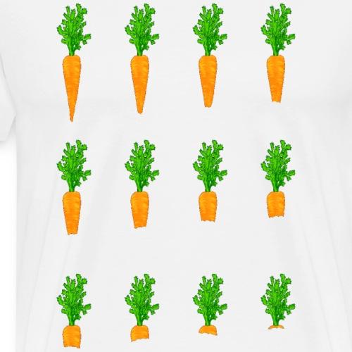 lecker Möhrchen - Männer Premium T-Shirt