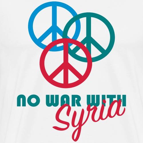 Kein Krieg in Syrien. - Männer Premium T-Shirt