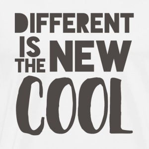 Hipster: Different is the new cool - Men's Premium T-Shirt