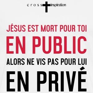 Public ou privé - T-shirt Premium Homme
