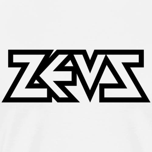 zeus logo b - Männer Premium T-Shirt