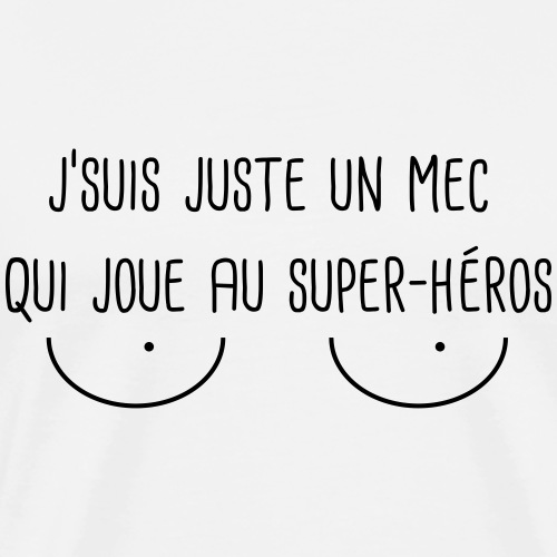 Super-Héros - T-shirt Premium Homme