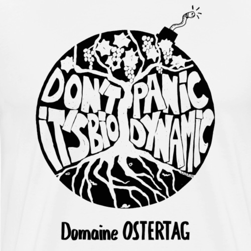 Don't panic NOIR - T-shirt Premium Homme