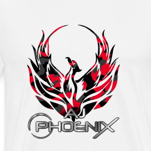 Camo Red - Men's Premium T-Shirt