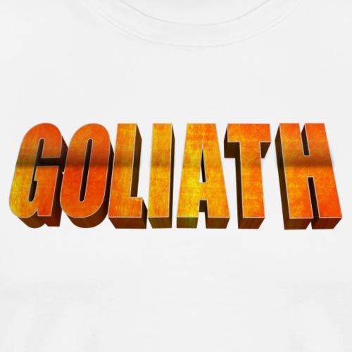 GOLIATH LOGO - Männer Premium T-Shirt