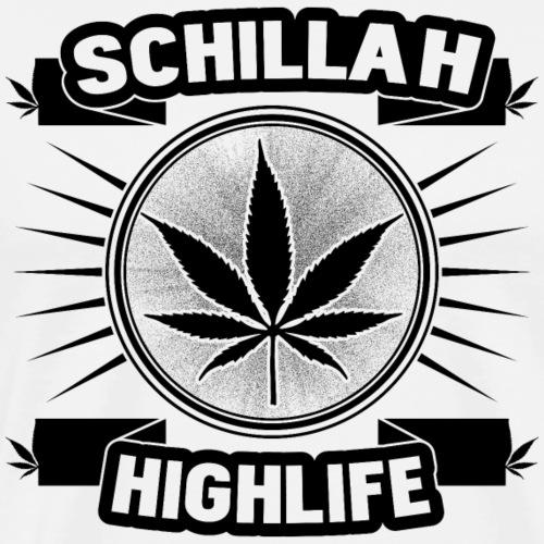 Schillah - Highlife Schwarz 01 - Männer Premium T-Shirt