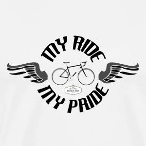 T SHIRT MY RIDE MY PRIDE VINTAGE - Mannen Premium T-shirt
