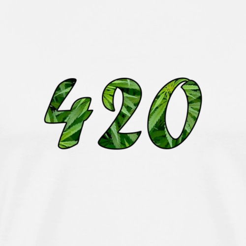 420 cannabis - Männer Premium T-Shirt