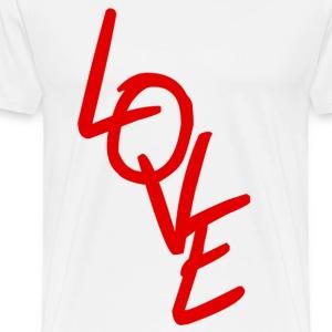 LOVE - Dance Shirt - Männer Premium T-Shirt