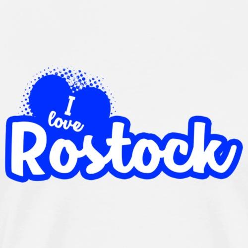 I Love Rostock - Männer Premium T-Shirt
