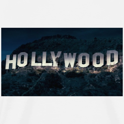 Hollywood sign - Camiseta premium hombre