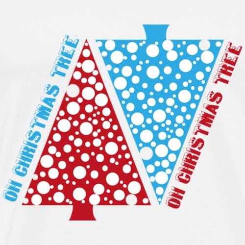 OH CHRISTMAS TREE - Männer Premium T-Shirt